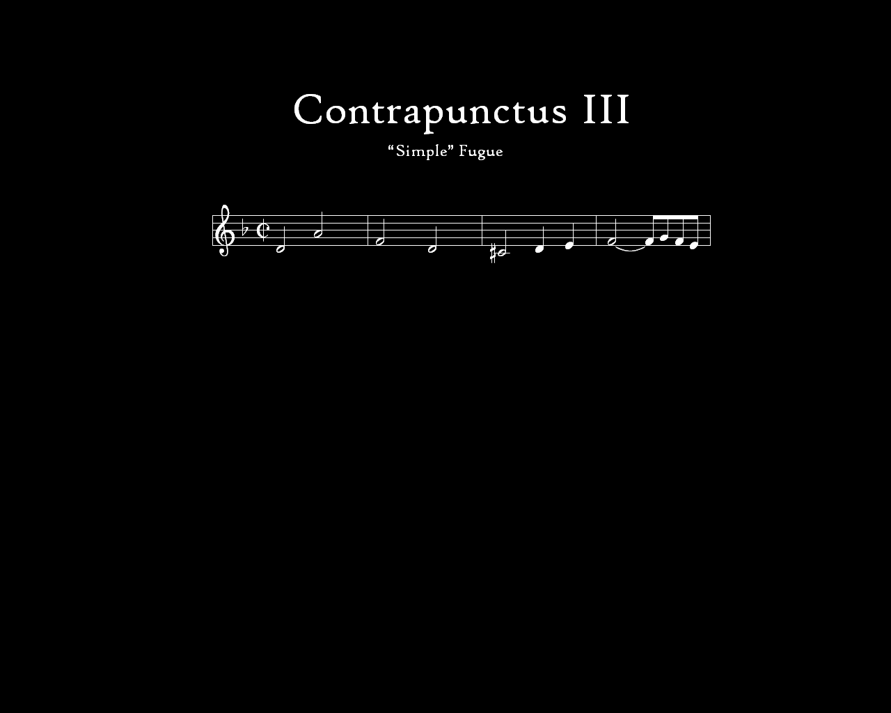 The Lynn University Wind Ensemble performs Contrapunctus 8.
