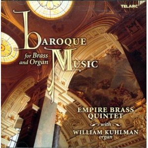 Baroque Music for Brass and Organ CD
